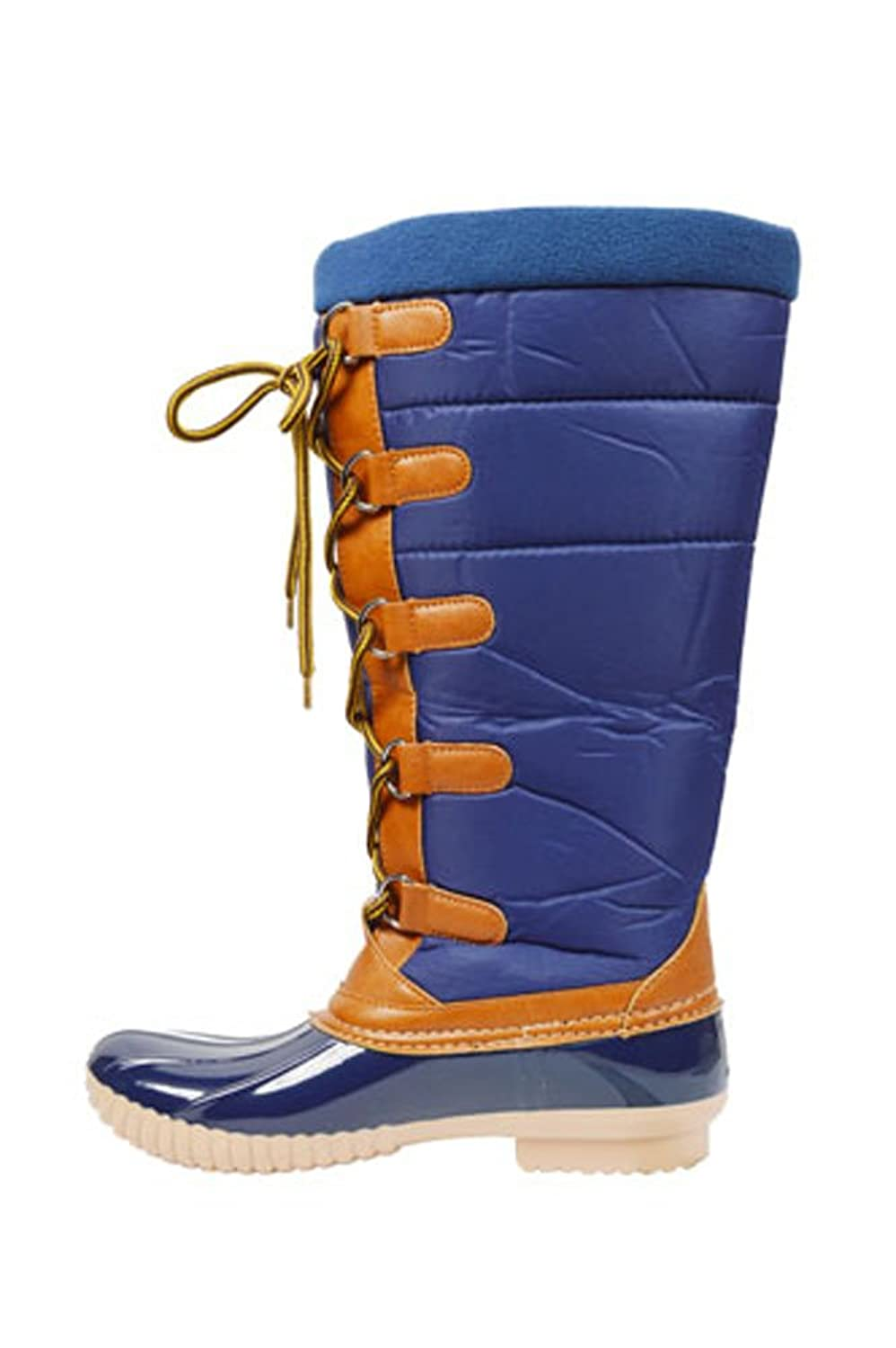 G.N.D. Women Winter Snow Rain Boots Lace up for women wide width
