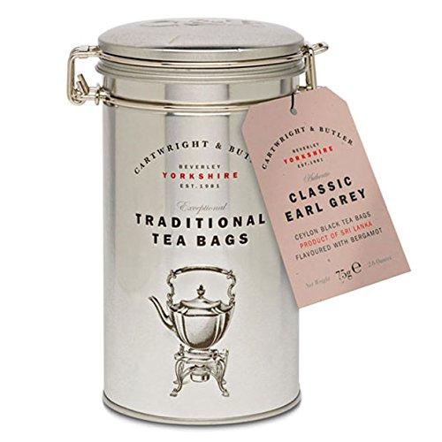 (Cartwright & Butler - Classic Earl Grey Tea Caddy)