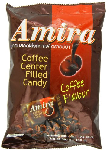 Amira Coffee Center Filled Candy, 10.5 Ounce