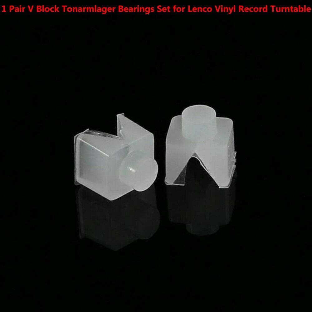 BAAQII - Par de rodamientos Tonarmlager V Block para Platino de ...