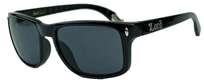 Locs Sonnenbrillen - Sport - Radfahren - Skifahren - Motorradfahrer - Mode - Fashion / Mod. Wayfarer Schwarz bL5IXD