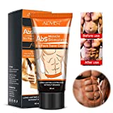 Men Powerful Abdominal Muscle Cream,Slim Cream,Fat Burner, Weight Loss Slimming Enhancer Workout Coconut