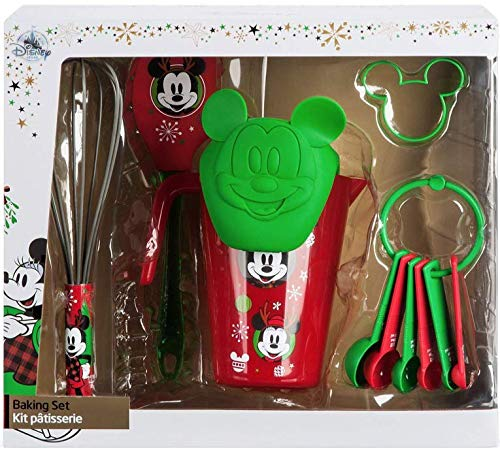 Childrens Holiday Baking Set Mickey and Friends Christmas Theme Gift Set