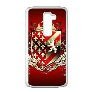 Festival Red Badge Custom Protective Hard Phone Cae For LG G2