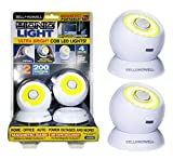 Bell and Howell Bionic Light Motion-Sensing, Portable, Powerful, Bright COB LED Lights As Seen On TV (Set of 2)
