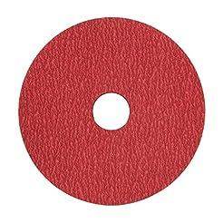VSM 149131 Resin Fiber Disc, Bright Red,...