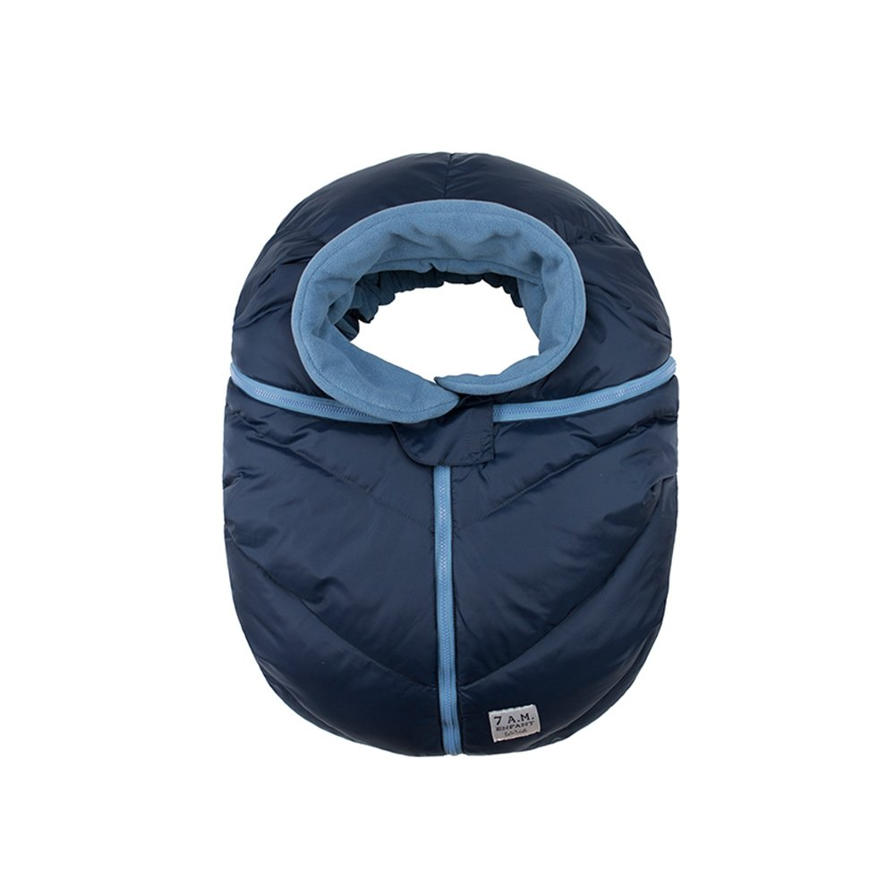 7 A.M. ENFANT Car Seat Cocoon, Midnight CSC-MN