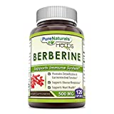 Pure Naturals Berberine 500 mg, Capsules – Supports immune system – Supports glucose metabolism – Aid in healthy weight management (120 Capsules) For Sale