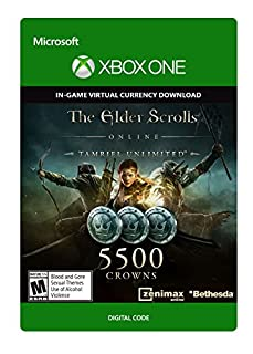 The Elder Scrolls Online Tamriel Unlimited Edition 5,500 Crowns - Xbox One Digital Code (B01E7J5EG4) | Amazon Products