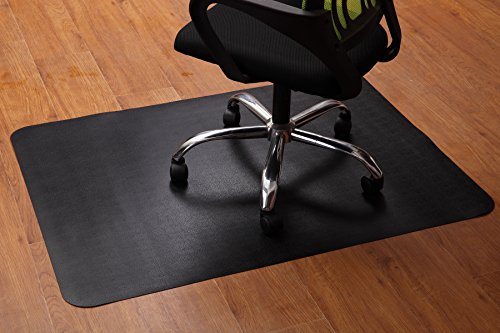 Office Chair Mat, Hardwood Floor Protector for Computer Desk, Floor Mats  for Protecting Floor Tiles from Heavy Appliances, No BPA Non-Toxic Plastic PU Mat, Anti Slip 47x35