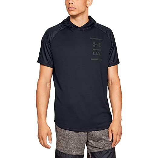431d3056f Amazon.com: Under Armour Men's MK-1 Terry Short Sleeve Hoodie: Clothing