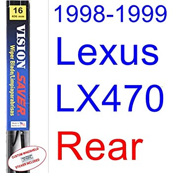 1998-1999 Lexus LX470 Wiper Blade (Rear) (Saver Automotive Products-Vision Saver)