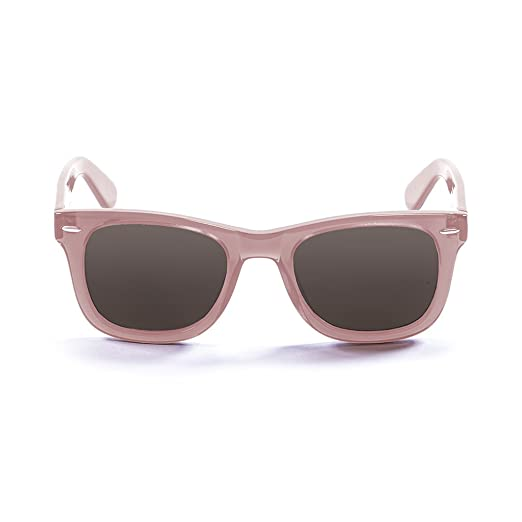 Ocean Sunglasses Lowers Lunettes de Soleil Mixte Adulte, Ginger Transparent/Smoke Lens
