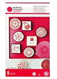 Martha Stewart Crafts Peppermint Winter Cupcake Stencils