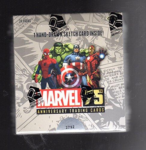 Marvel 75th Anniversary 12 Box sealed case
