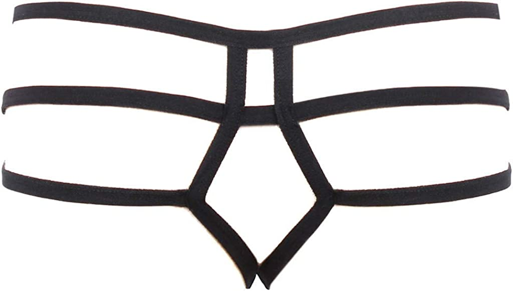 High Waist G-String Brief...