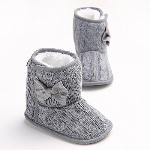 leap frog  Snow Boots,  Baby Mädchen Schneestiefel Grau