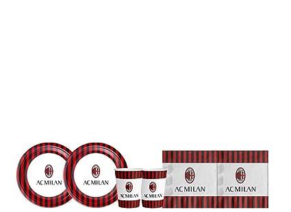 Irpot Kit - A Fiesta de cumpleaños A.C. Milan: Amazon.es ...