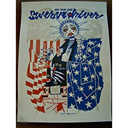 Swervedriver Music Poster Swervedriver USA Tour 08 Burwell