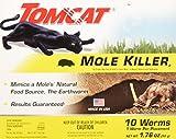 Tomcat Mole Killer Worms 10pk