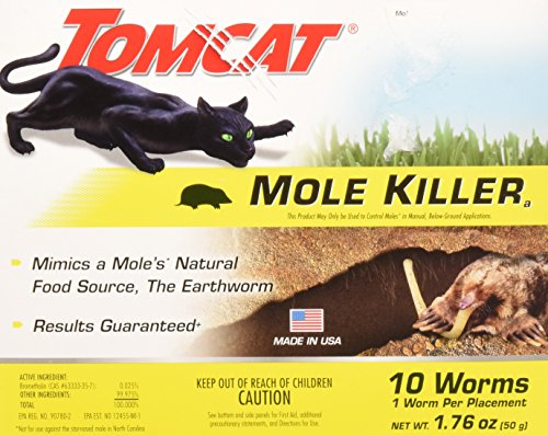 (Tomcat Mole Killer Worms 10pk)