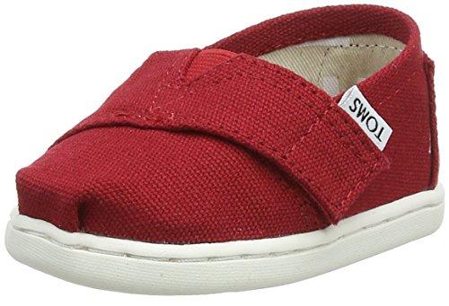 Toms Youth / Tiny Classics 2.0 Slip-on Shoes Tela Rossa