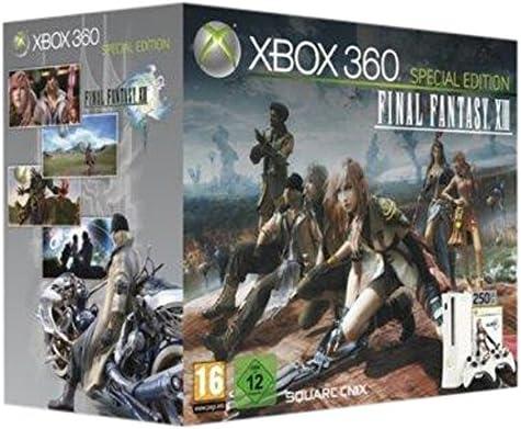 Microsoft Xbox 360 Super Elite 250GB + Final Fantasy XIII 250GB Wifi Blanco - Videoconsolas (Xbox 360, Blanco, 512 MB, DDR3, IBM PowerPC, Unidad de disco duro): Amazon.es: Videojuegos