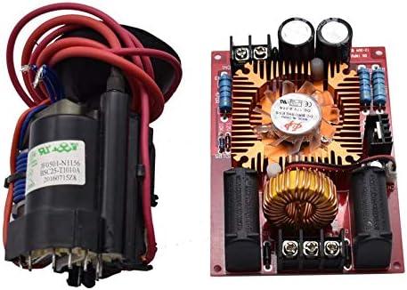 ZengBuks DC 12-30V ZVS Tesla Coil Flyback Driver/SGTC/Marx Generator + Bobina de Encendido + Ventilador 24V - Multicolor