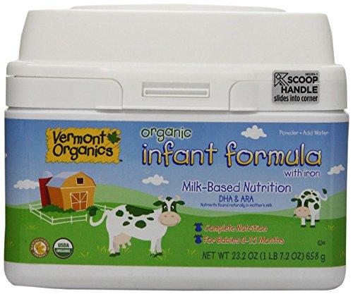 Vermont Organics Infant Formula review