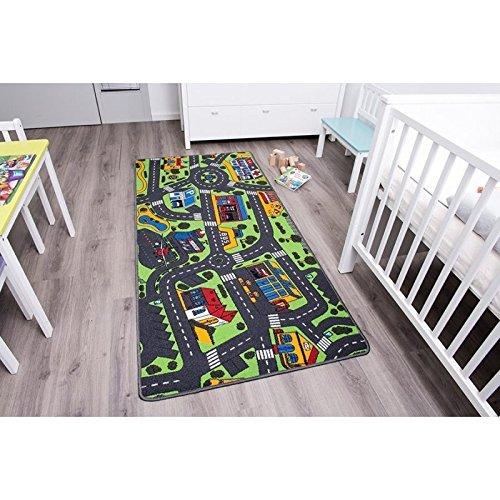 Kinderteppich Spielteppich CITY 0,95 x 2,00