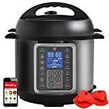 MultiPot 9-in-1 Programmable Pressure Cooker 6 Quarts by Mealthy...