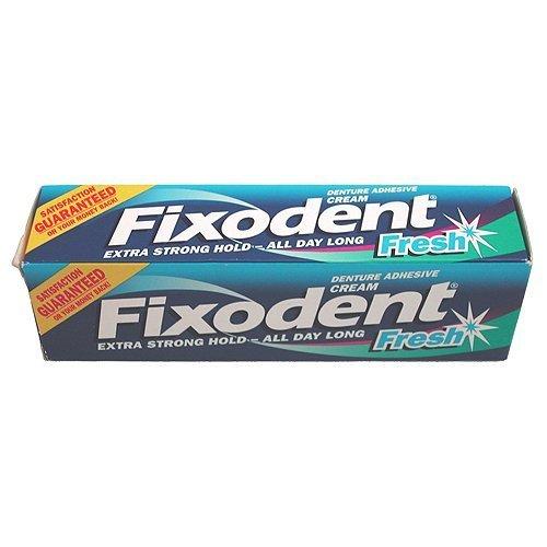 Fixodent Fresh Denture Adhesive Cream 2 x 40 ml by Fixodent