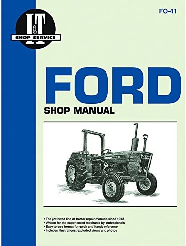 Amazon.com : Complete Tractor 1115-2230 Service Manual for Ford New Holland  Jubilee, NAA Tractor FO-19, Black : Garden & OutdoorAmazon.com
