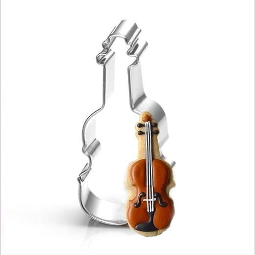 SULUO Notas Musicales Piano Guitarra violín Metal Cortador de ...