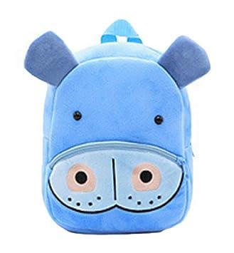 Mochila de Oso Lindo bebé, Bolsa de Libro de jardín de niños Bolsa de arnés de niños con cinturón de Seguridad reigas para niños niñas: Amazon.es: Hogar