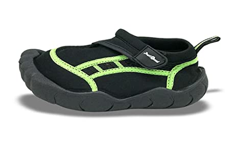 b72c37820eb8 Image Unavailable. Image not available for. Color  Boys Toes Finger Aqua  Shoe Size 3 D Black Lime