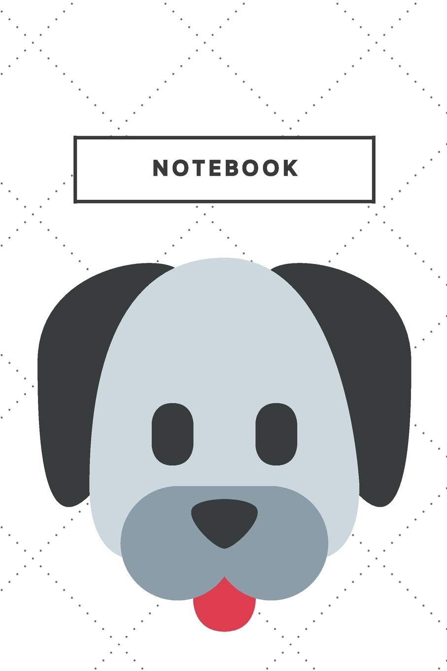 Notebook Cute Dog Face Notebooks And Journal Puppy Soft Cover