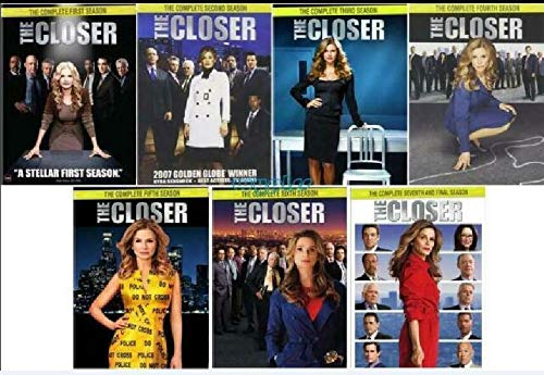 The Closer: Complete Series Season 1-7 DVD New