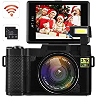 Video Camera Camcorder, DIWUER WiFi Digital Camera...