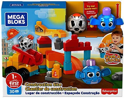 Mega Bloks Peek a Blocks Construction Site
