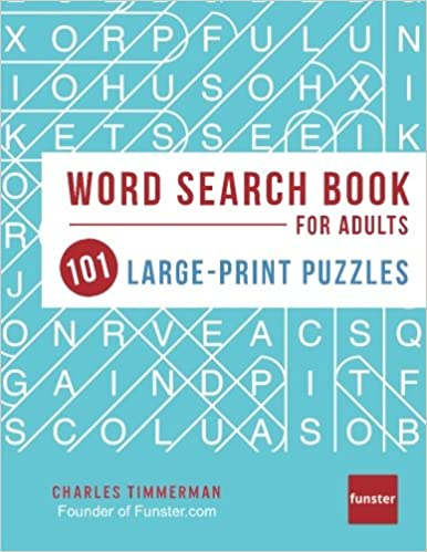 Funster Word Search Book for Adults: 101 Large-Print Puzzles ...
