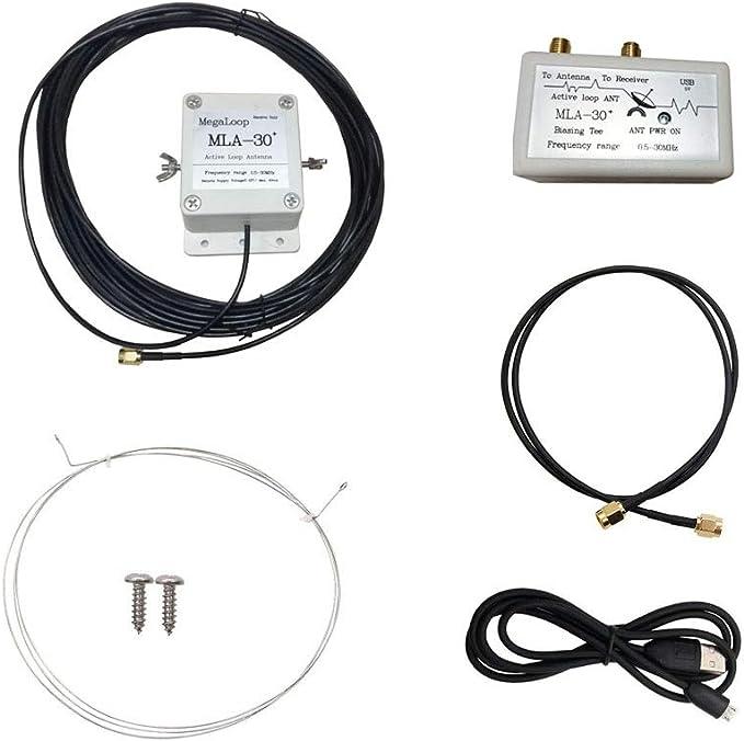 Cuasting MLA-30+ Plus - Antena de bucle de actualización ...