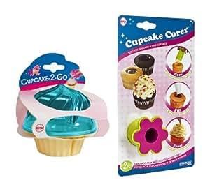 Evriholder Cupcake Corer and Holder Set