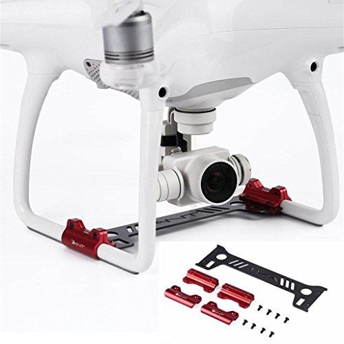 Creazy Carbon Fiber Camera Gimbal Guard for DJI Phantom 4 Landing Protector Gear GY