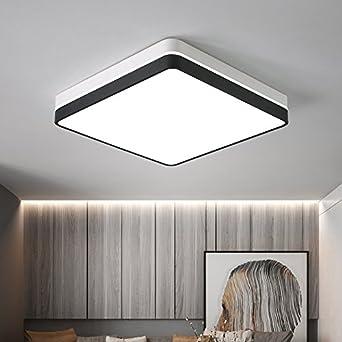 ZHUDJ Led Schlafzimmer Deckenleuchte Modern Square Home Zimmer Lampe Balkon  Zimmer Buchen Lampe, 40