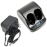 HQRP Dual Battery Charger for Craftsman 900112710 900.112710 9-11271 911271 387101-01 387101-00 00911271000 Power Tools + HQRP Coaster