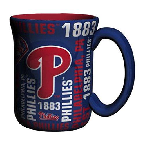 (MLB Philadelphia Phillies Sculpted Spirit Mug, 17-ounce)
