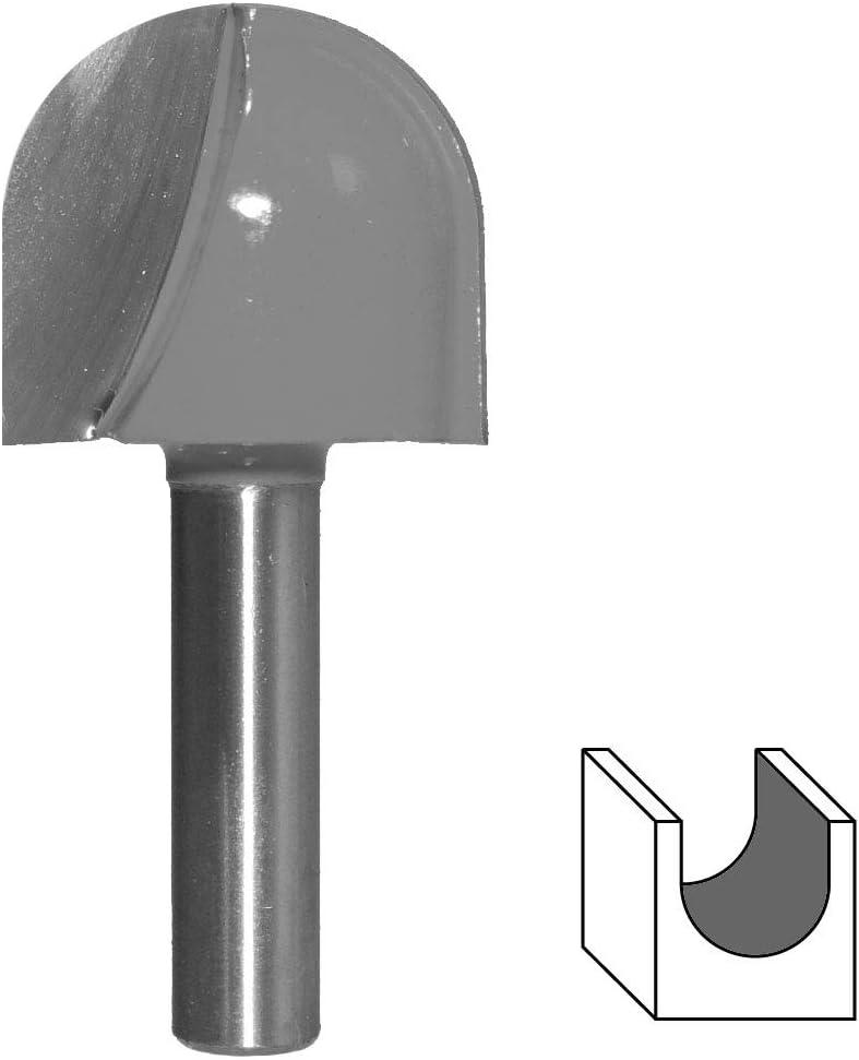 KWB Profilfräser HM mit 8 mm Schaftdurchmesser Ø 12,7 x 3,2 x 9,0 mm