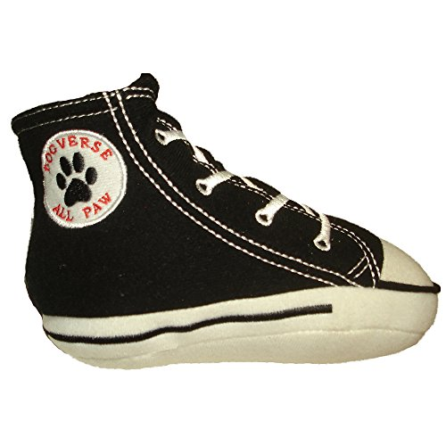 - Dog Diggin Designs Runway Pup Collection | Unique Squeaky Plush Dog Toys - High Heel Essentials (Dogverse All Paw Sneaker, Large)