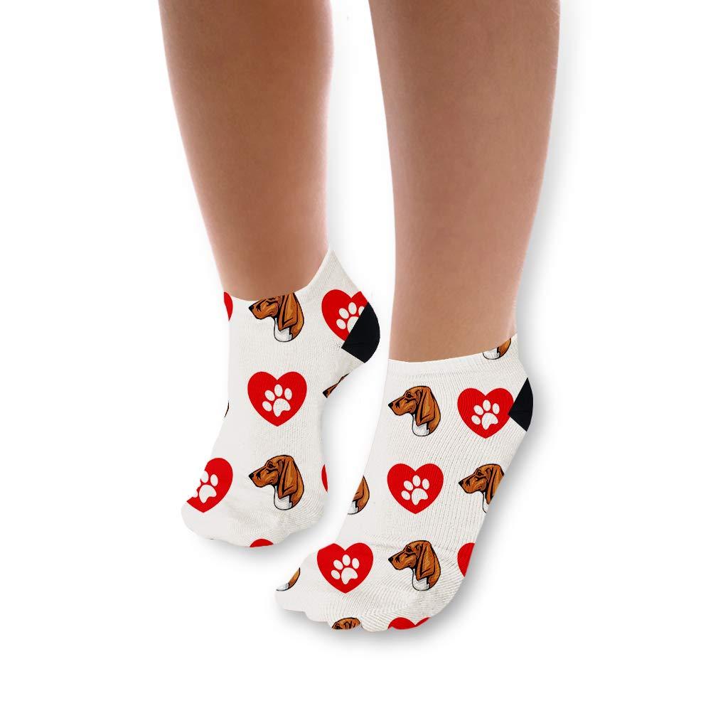 Amazon com: Trigg Hound Dog Heart Paws Pattern Unisex Toddler Baby